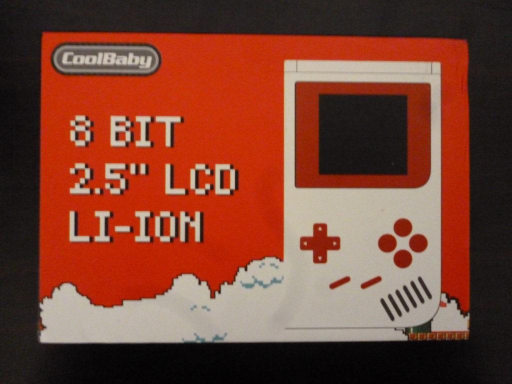 Liebeye ゲーム機 ポータブル 2.5インチがやっと届いた!